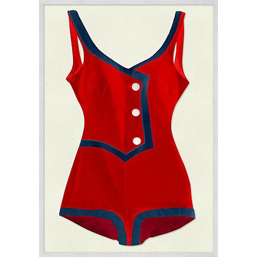 Vintage Swimsuit I