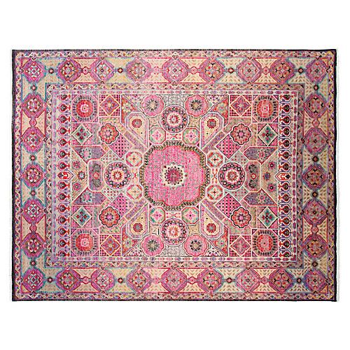 9'x12' Passion Rug, Pink/Multi