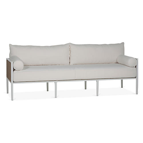 Newport Sofa, White