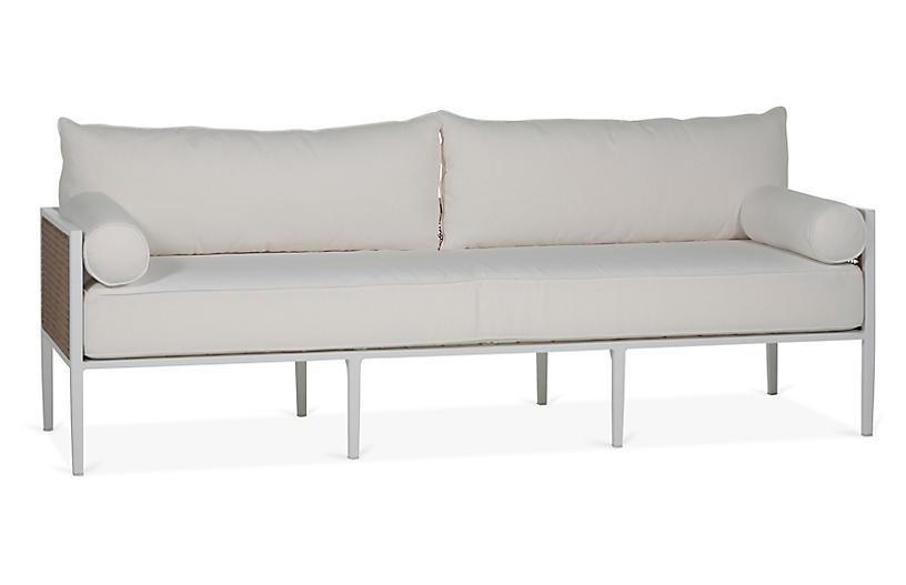 Newport Sofa, White
