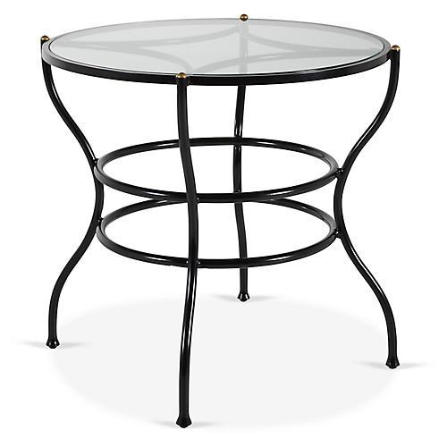 Frances Bistro Dining Table, Black