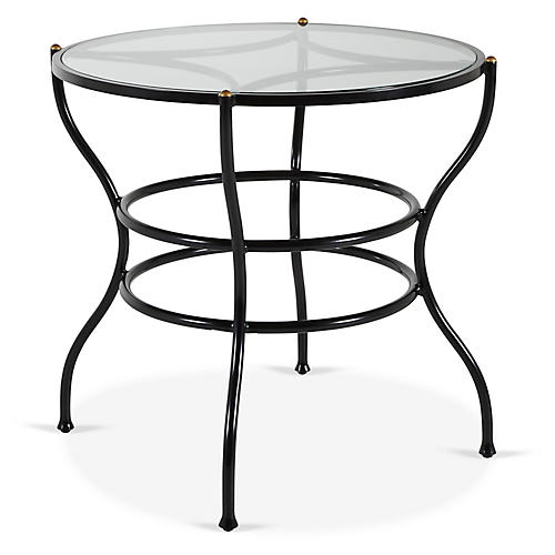 Frances Bistro Dining Table, Black