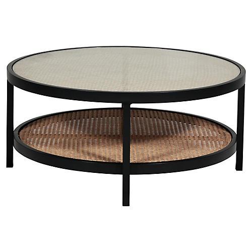 Newport Coffee Table, Black