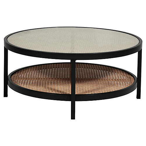 Newport Coffee Table, Black