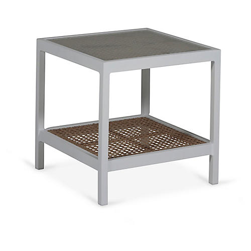 Newport Side Table, White