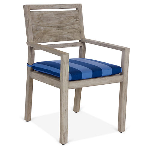 Avondale Armchair, Blue/Navy