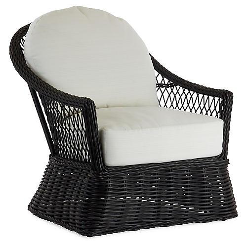 Soho Lounge Chair, White