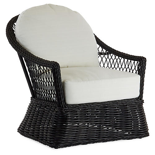 Soho Lounge Chair, White