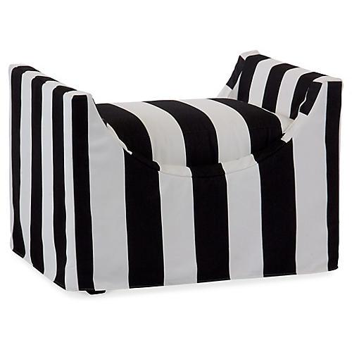 Gayle Bench, Black/White