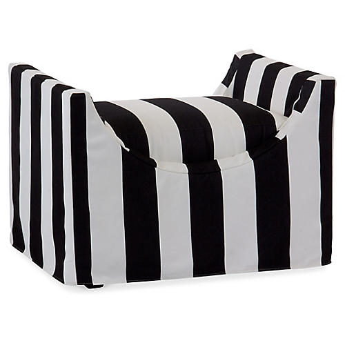 Gayle Bench, Black/White