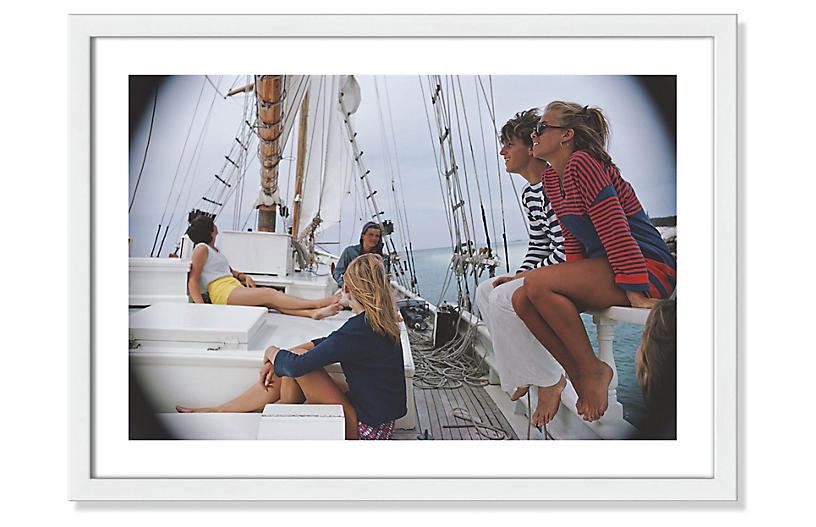 Slim Aarons, Yachting In Lyford Cay