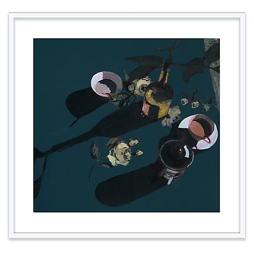 Susan Ashworth, Hellebore & Roses