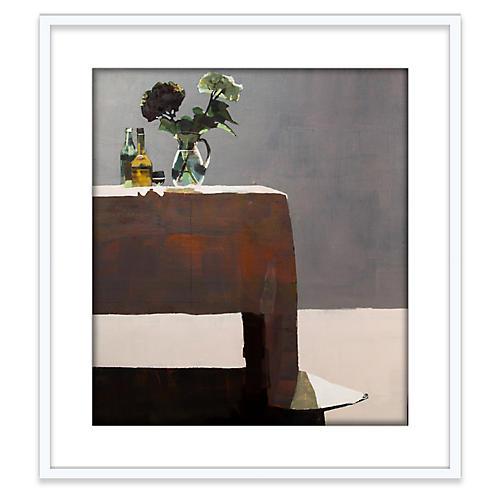 Susan Ashworth, Hydrangeas & Sherry