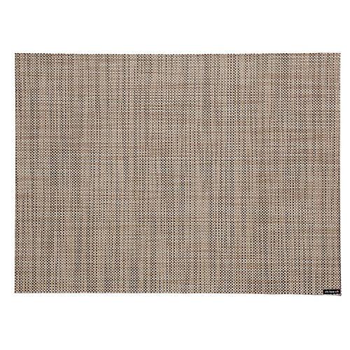 Mini Basketweave Place Mat, Linen