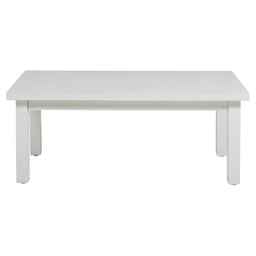 Club Coffee Table, French Linen