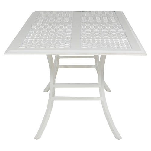 Oxford Dining Table, French Linen
