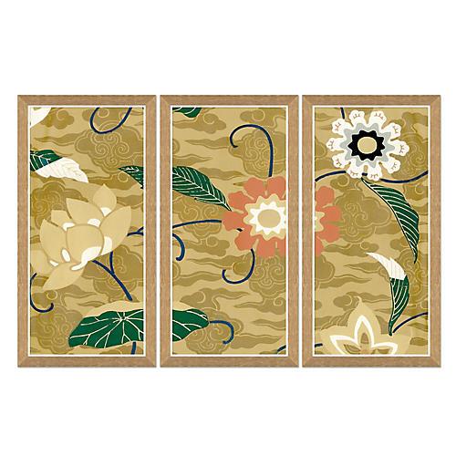Lotus Blossom Textile Design I