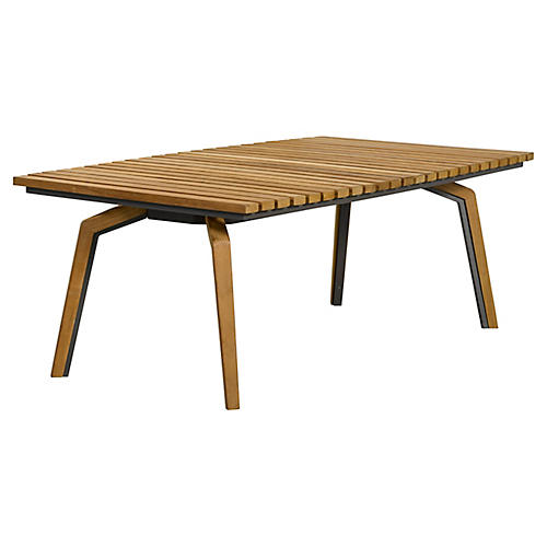 Cote d'Azur Coffee Table, Natural/Taupe