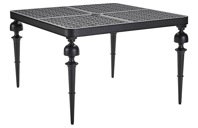 Hemingway Square Dining Table, Black