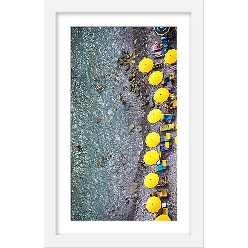 Judith Gigliotti, Deep Yellow Umbrellas