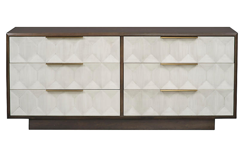 Briarwood Dresser, Light Gray