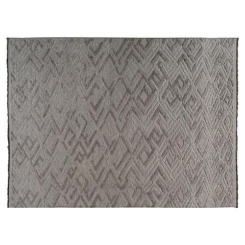 Pali Hand-Knotted Rug, Cedar/Gray