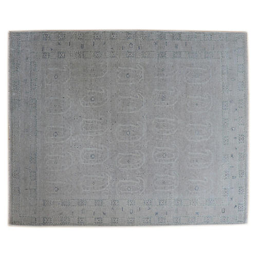 Amila Hand-Knotted Rug, Gray