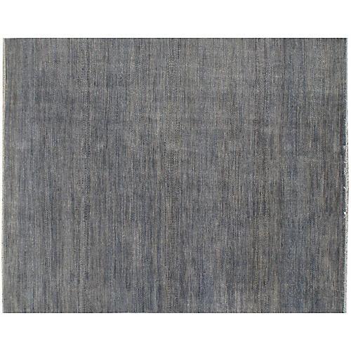 "8'1""x10' Dausa Hand-Knotted Rug, Gray"