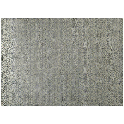 Pasan Hand-Knotted Rug, Gray/Multi