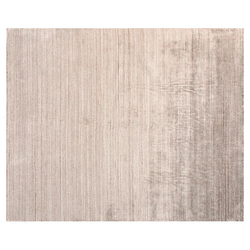 Almora Hand-Knotted Rug, Beige
