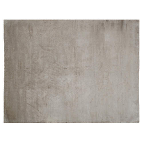 Baberu Hand-Knotted Rug, Taupe