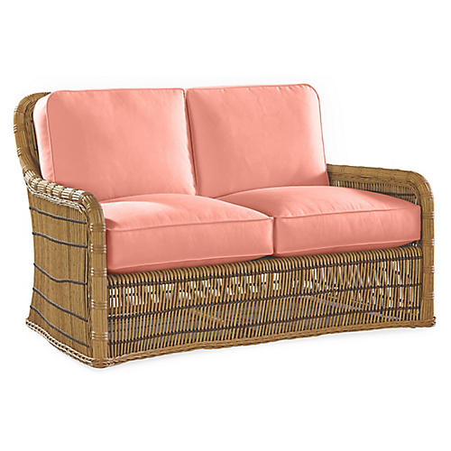 Rafter Loveseat, Coral
