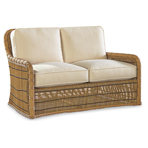 Rafter Loveseat, Natural