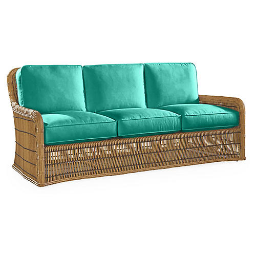 Rafter Sofa, Turquoise