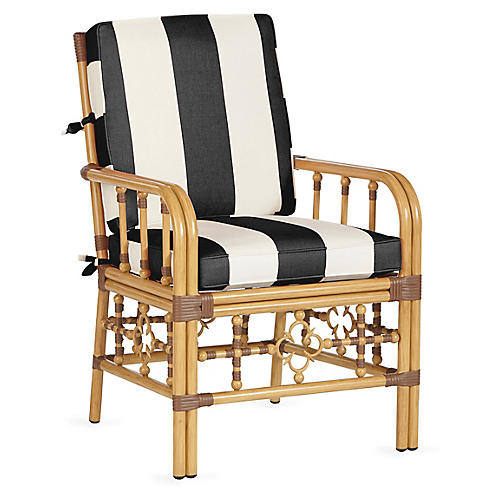 Mimi Armchair, Black/White