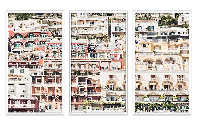 Natalie Obradovich, Positano Triptych