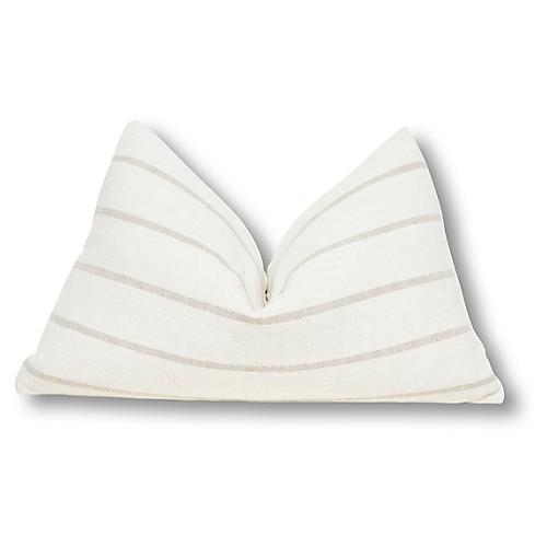 Noa 16x25 Pillow, Natural/Sand Linen