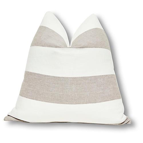 Caravana 24x24 Indoor/Outdoor Pillow, Salt