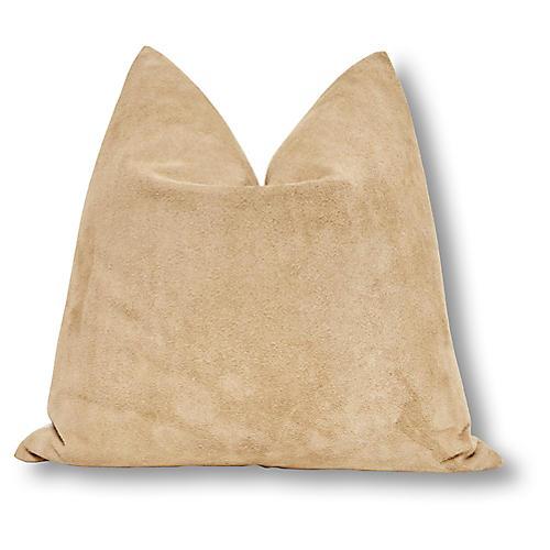 Buck 24x24 Pillow, Buckskin