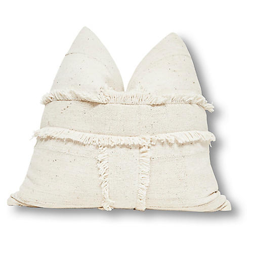 Banded 24x24 Pillow, Natural