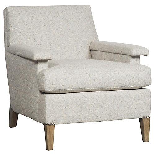 Geddes Accent Chair, Cloud