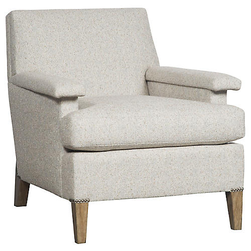 Geddes Accent Chair, Cloud