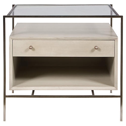 Citin Side Table, Light Gray