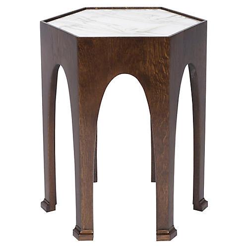 Sega Side Table, Walnut