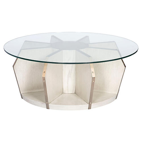 Cheeca Coffee Table, Whitewash