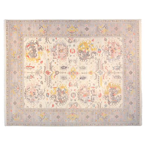 9'x12' Paxton Rug, Ivory