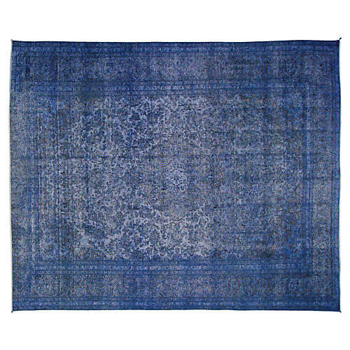 "9'6""x12'6"" Richard Rug, Blue"