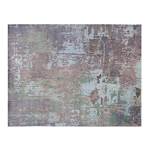 9'x12' Grove Rug, Gray/Multi