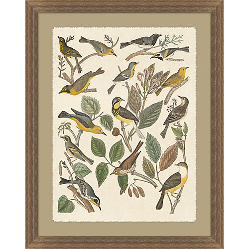 Birds and Branches I