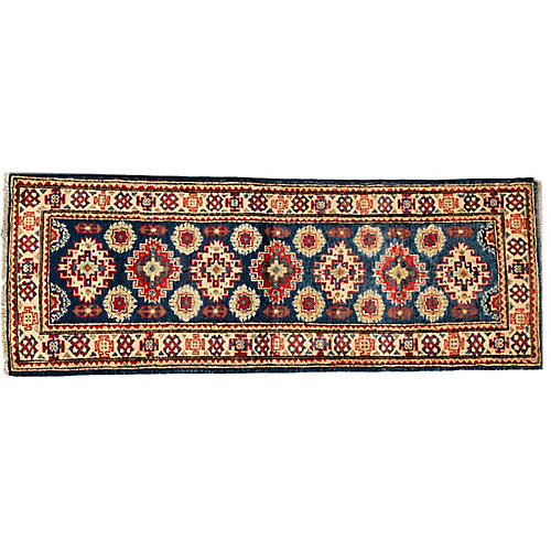 "2'x5'4"" Verena Kazak Runner, Red"